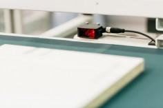 Sondermaschinen Kantenaufleim-Rückführung